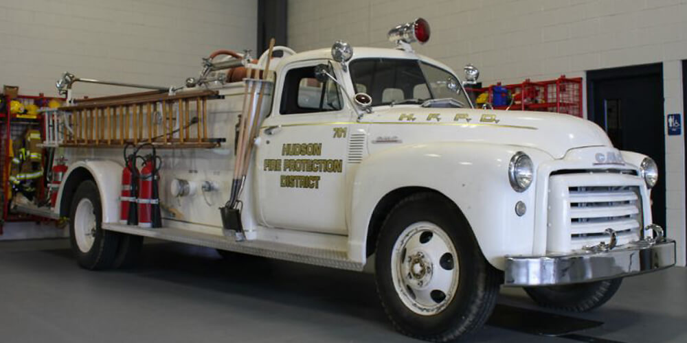 Hudson Fire Protection District History